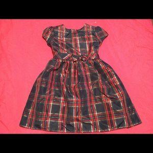Wonder Nation Kid plaid dress, size 5t